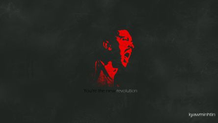 You're the new revolution by skreamer