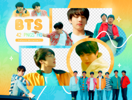 PNG PACK: BTS #51 (Euphoria) by Hallyumi