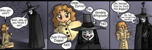 V4V comic- Who are you? by abbey1normal