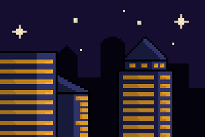Nightly City by Gindew