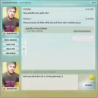 InstantMessenger Design - Chat by Paveman