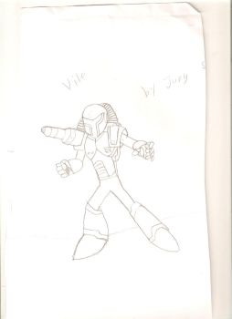 Vile From Mega Man X series by JungStuff