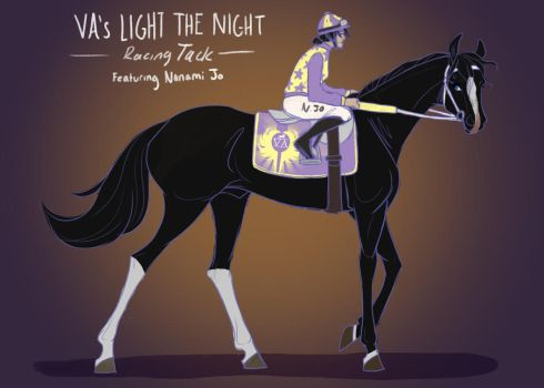 Rave's Racing Tack by ValkyrieAcres