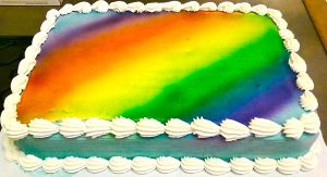 Rainbow Sky Cake by BrightlyWound455