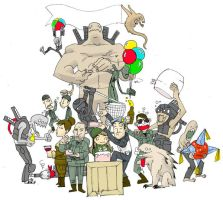 Resistance party by LordTano