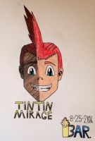 Tintin Mirage by BARproductions