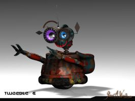 Rusty - Little Robot - Commercial Character by JWraith