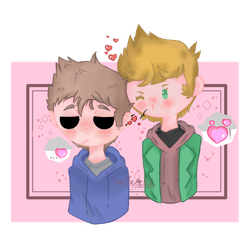 Matt x Tom ( Eddsworld ) by LeoTheStarKid