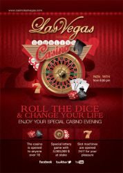 Casino Special Evening Flyer by n2n44