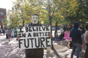 Occupy Moncton Protesters by CyberWolf23