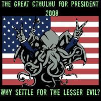 Cthulhu for President by tu160