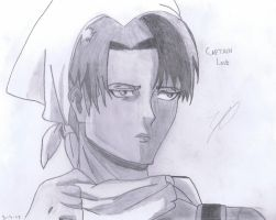 Captain Levi (Cleaning) // AOT by 1999emily