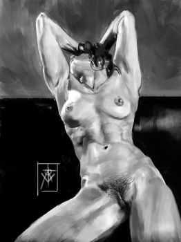Nude Study by atomcyber