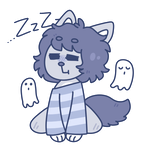 Sleepy Ghost by obakesama