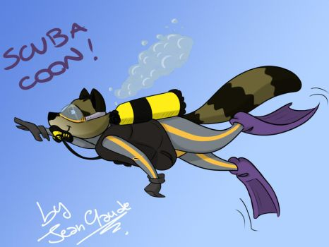 Scuba Coon by Jean-Claude17