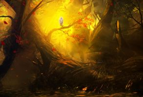 King's forest by UlricLeprovost