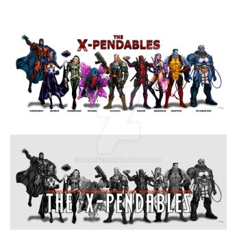 The X-Pendables by RCarter