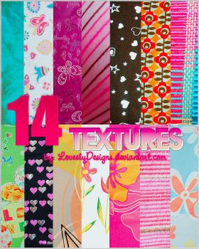 Pack 14 Big Textures by loveelydesigns