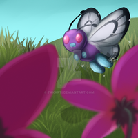 Pokemon: ButterFree by Takarti