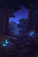 Forest Trail by Deadmeat1555